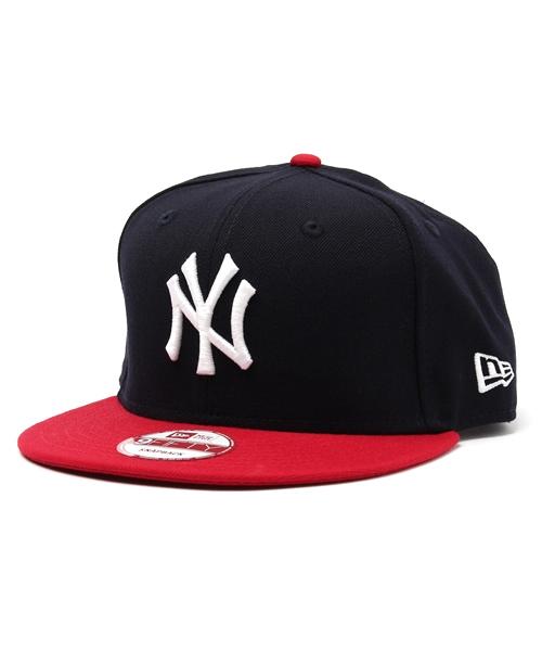 63aa9c9f0c6ef NEWERA 9FIFTY SNAPBACK CAP NEW YORK YANKEES NAVY. by NEW ERA. Color : ...