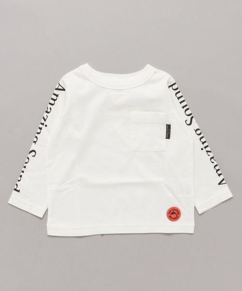 GROOVY COLORS | テンジク A SOUND POCKET 長袖 TEE - Buyee, an Online