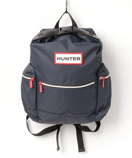 b2497b326748 HUNTER / ORIGINAL BACKPACK NYLON、ORG TOPCLIP BACKPACK NYLON. by HUNTER.  Color : ブラック; Color : オリーブ; Color : ネイビー ...