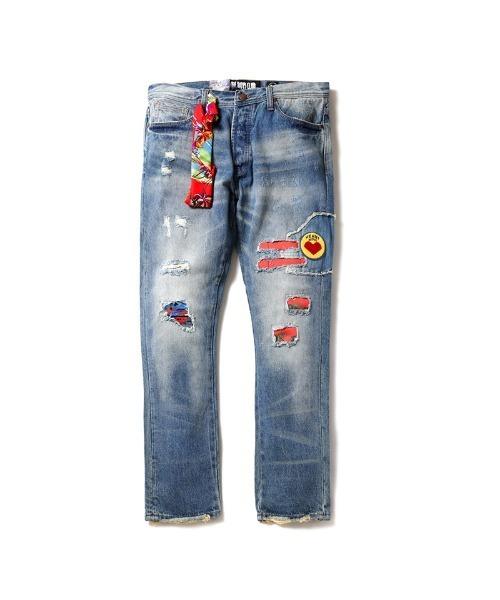 ASTRO Little Boys Stretch pencil Jeans
