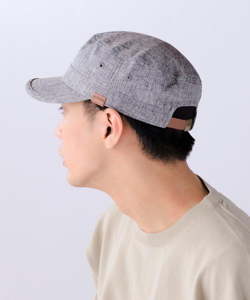 388974b0a003cd BIGポリジュートワークCAP 14+オリジナル ワークキャップ レディース メンズ 帽子 キャップ. by 14+. Color : ブラック;  Color : グレー ...
