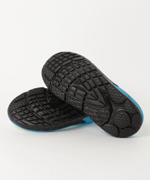 d8c9ad3a7b570f HOKA ONE ONE   ORA RECOVERY FLIP (BLACK  PROCESS BLUE). by Teva. Color    ブルー  Color   ブルー ...